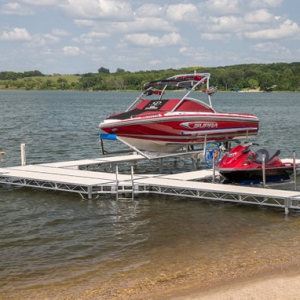image of ShoreMaster TS9 aluminum dock