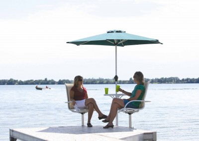 image of Relaxing on the dock