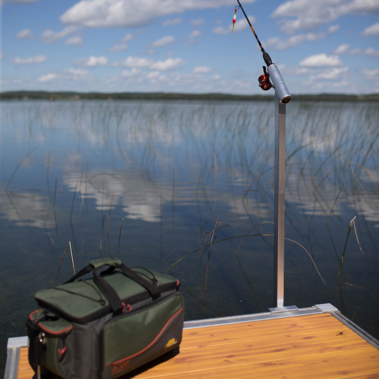 Accessories pier waterfront solutions llc for Pier fishing rod holder