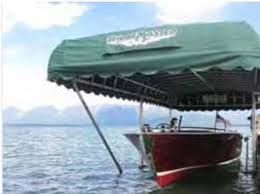 image of Shoremaster Boat Lift Canopy