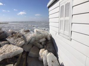 image of door county ice shove - 2017