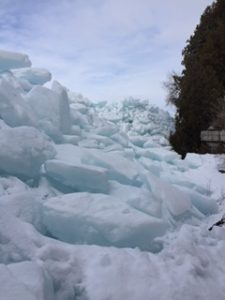 image of ice shove