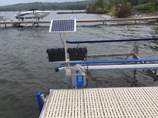 image of 24 V Solar Panel arrangement