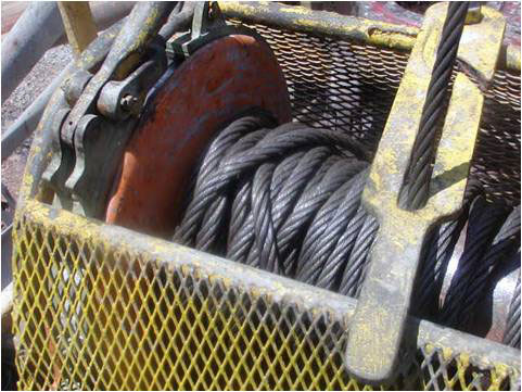 image of Boatlift Cable backlash