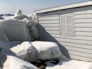 image of 2018 Arrowhead Beach - Crushing a boathouse