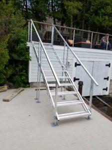 image of Aluminum Stairs