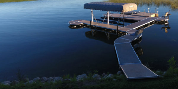 image of ShoreMaster RS 4 Curved dock