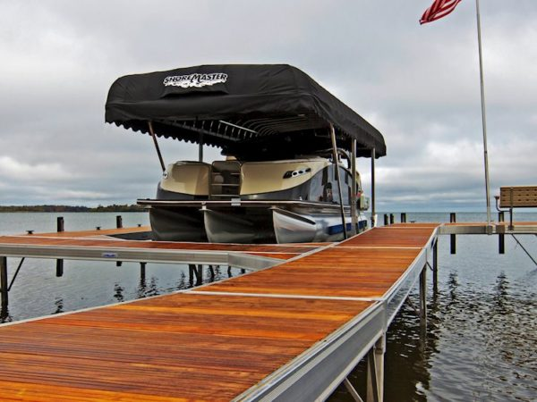 image of ShoreMaster RS 7 Dock with IPE Wood Decking