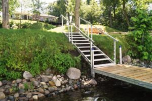image of Dock Steps on the embankment