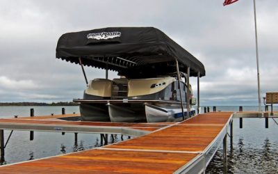 HOW TO REPLACE A BOAT LIFT COVER