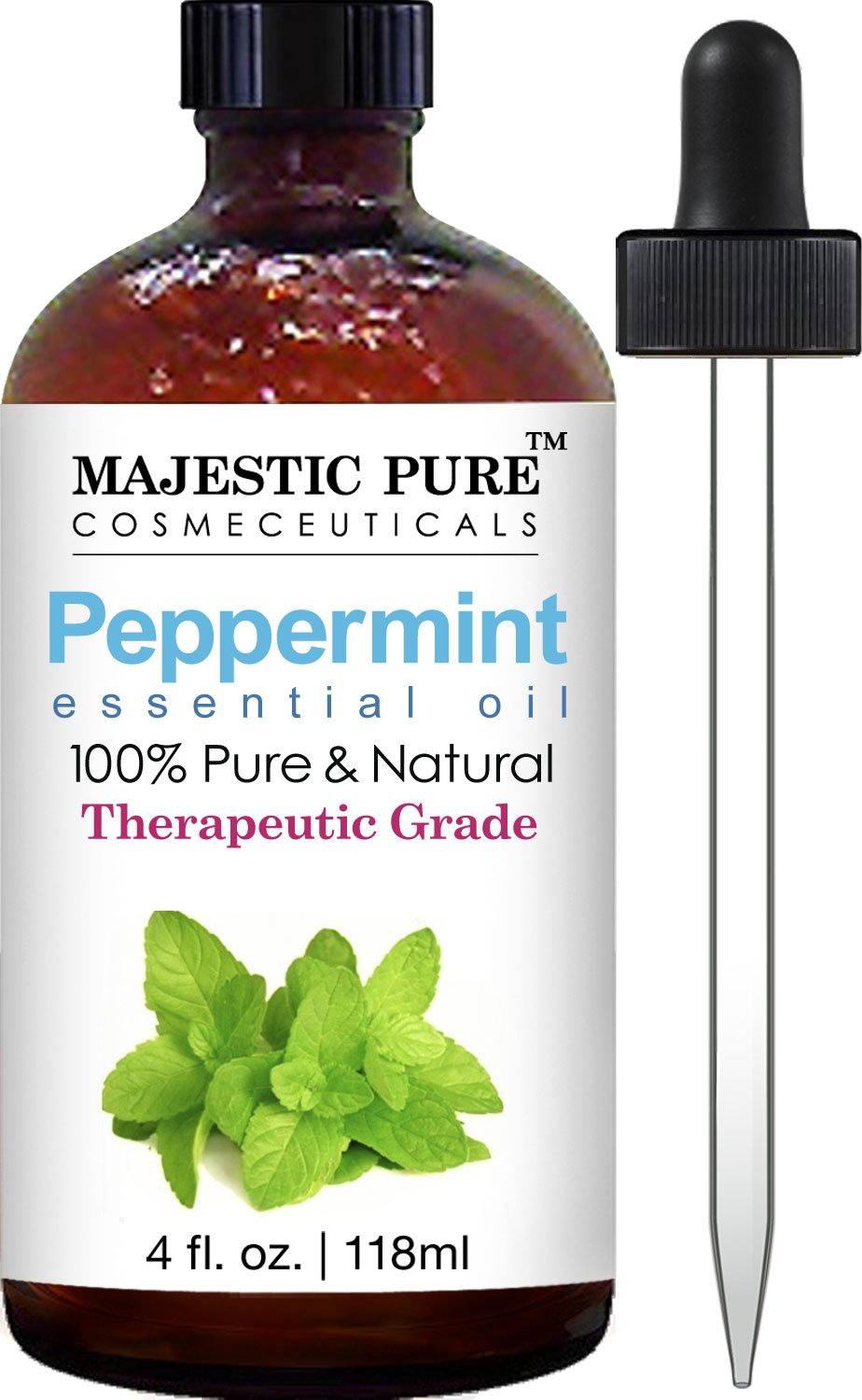 image of Peppermint oil to get rid of spiders