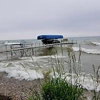 3-Season Pier on Lake Michigan